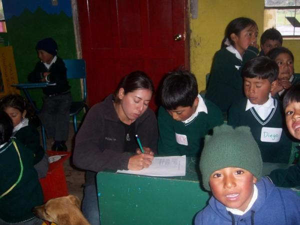 Have the opportunity to participate in service projects in Cotopaxi