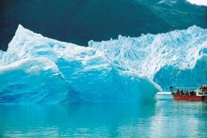 Iceberg tours in remote Chilean waters