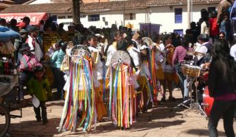 more colorful costumes at Pisac