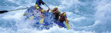 Whitewater rafting adventure tour of Chile's Rio Futaleufu
