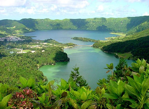 Stunning landscapes of the Azores Islands