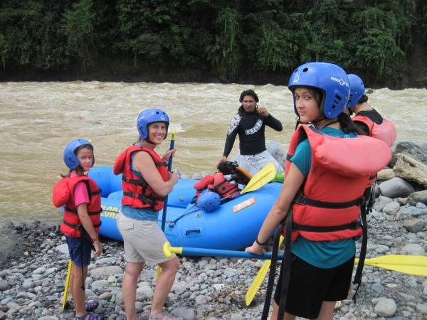 Rafting the Sarapiqui