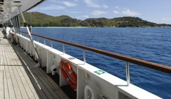 Stroll on deck as you sail to exciting destinations