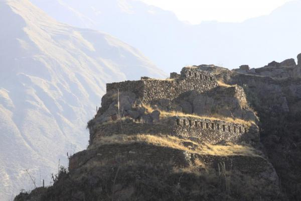 Ruins just outside of Ollantaytambo