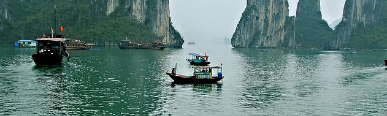 Visit Ha Long Bay, a UNESCO World Heritage Site