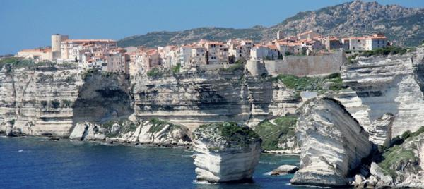 Magnificent cliffs of the Mediterranean