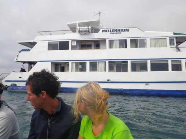 Our yacht, Millennium, led us to many adventures.