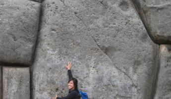 Massive stones at Sacsayhuaman