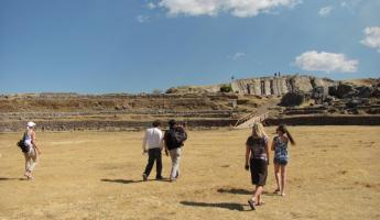 Sacsayhuaman ruins outside Cusco