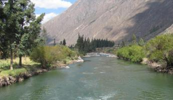 Rafting the Urubamba River