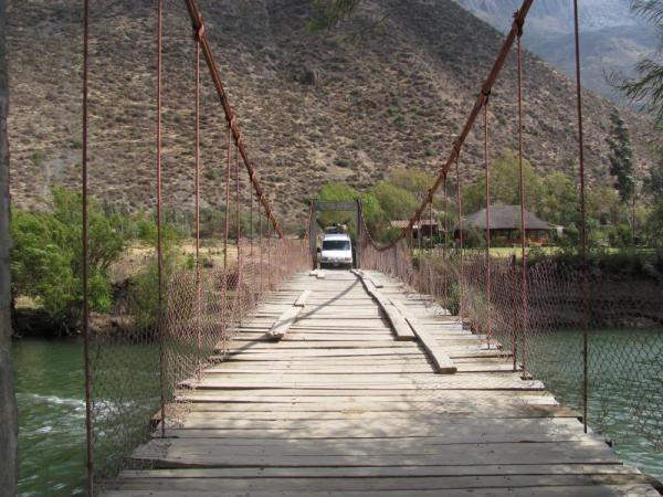Bridge on the Urubamba River