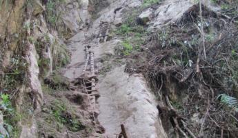 """Trail"" to Putucusi"