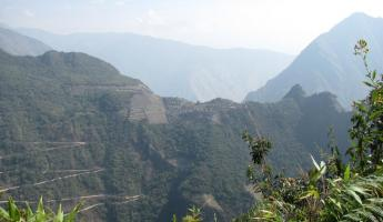 Machu Picchu from the top of Putucusi