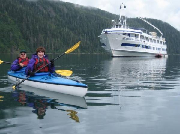 Explore Alaska's wildlife-rich shores by kayak