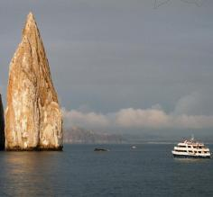 Crusing the Galapagos islands