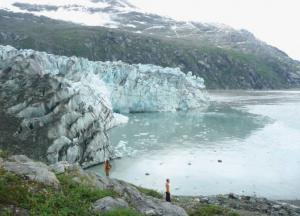 Stunning glacier viewing