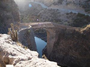Walking Bridge, Colca Canyon