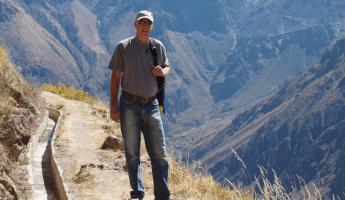 Hike Along Canyon Rim, Colca Canyon