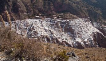Maras Salt Pans,  Sacred Valley