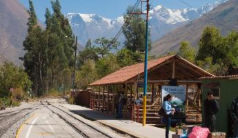 Train Station, Ollantaytambo