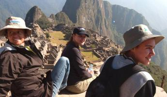 A Great Day!  Machu Picchu
