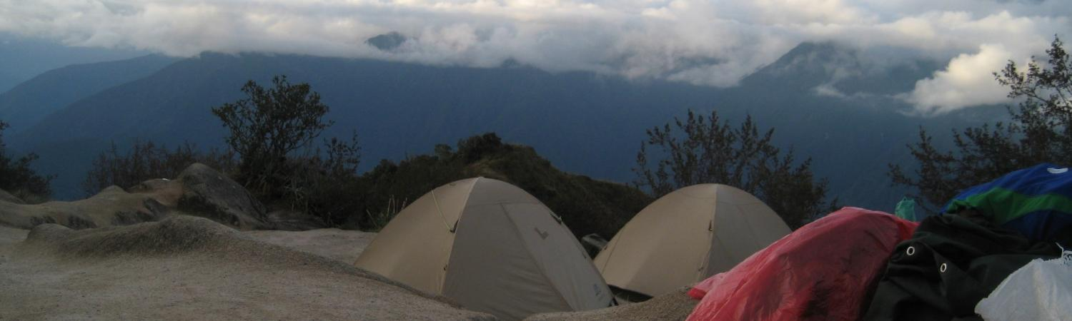 Camping above the clouds = pure bliss
