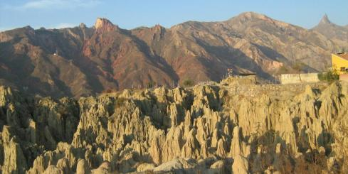 The Moon Valley, near La Paz