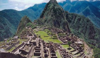 Exploring Machu Picchu during Peru travels