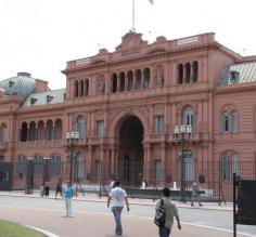 The Presidential Palace in Buenos Aires