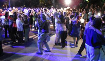 Friday night: Tango in the Park