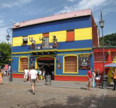 Colorful caminito beckons travelers and locals alike in Buenos Aires