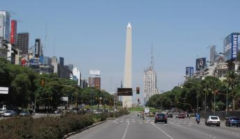 The Obelisk on Ave 9 de Julio