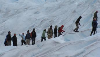 Mini tracking Perito Moreno Glacier