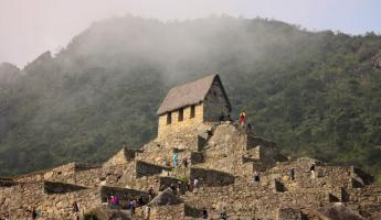 The Gate House - Machu Picchu