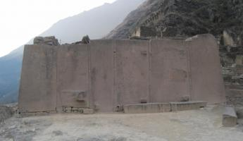 Temple of the Sun at Ollantaytambo