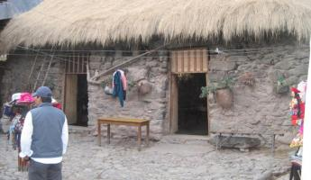 Typical Peruvian Home - at Ollantaytambo