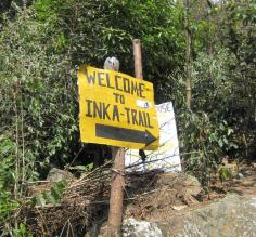 Our Inca Trail hike day
