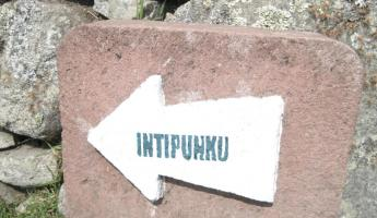 Heading to Intipunku - The Sun Gate