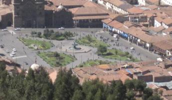 View of Plaza de Armas