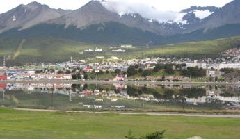 Ushuaia from a vista point
