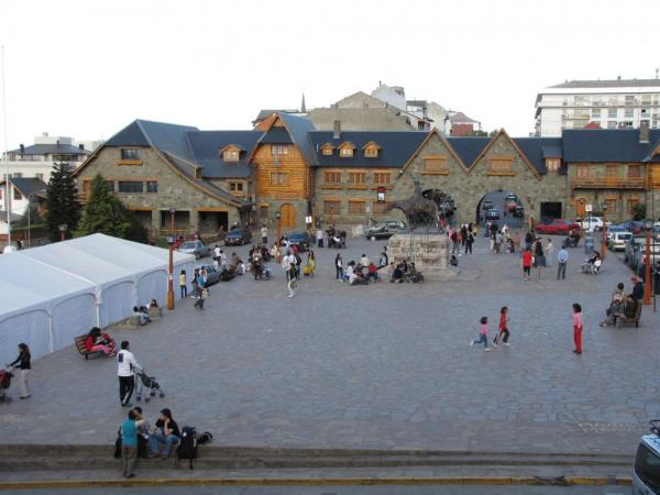 Bariloche Main city square