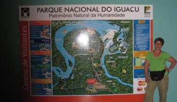 Iguacu Falls - Brazilian side