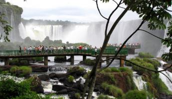 The Falls from the Brazilian observation deck