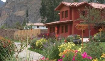 The lovely hotel at Ollantaytambo.