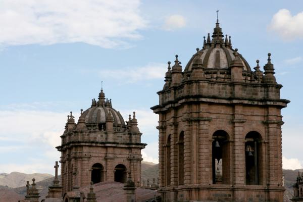 On your Peru tour, visit the beautiful cathedrals that edge the Plaza de Armas in Cusco