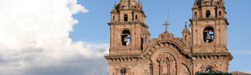 The lovely Iglesia de la Compania in Cusco