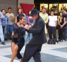 Tapping to the tunes of the Tango on the streets of Buenos Aires