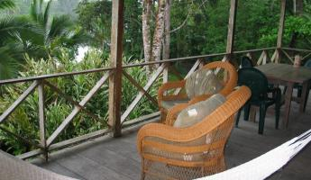 Guest quarters at the Pacuare Nature Reserve