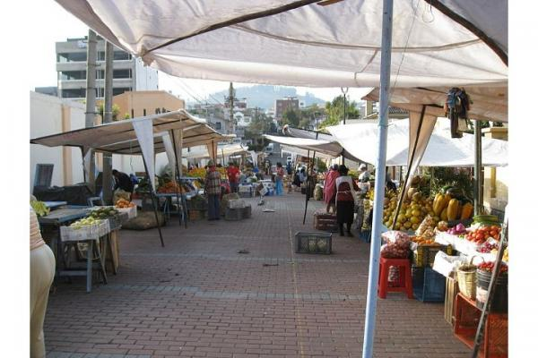Market place in Quito
