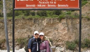 Kilometer 82 and the start of the Inca Trail
